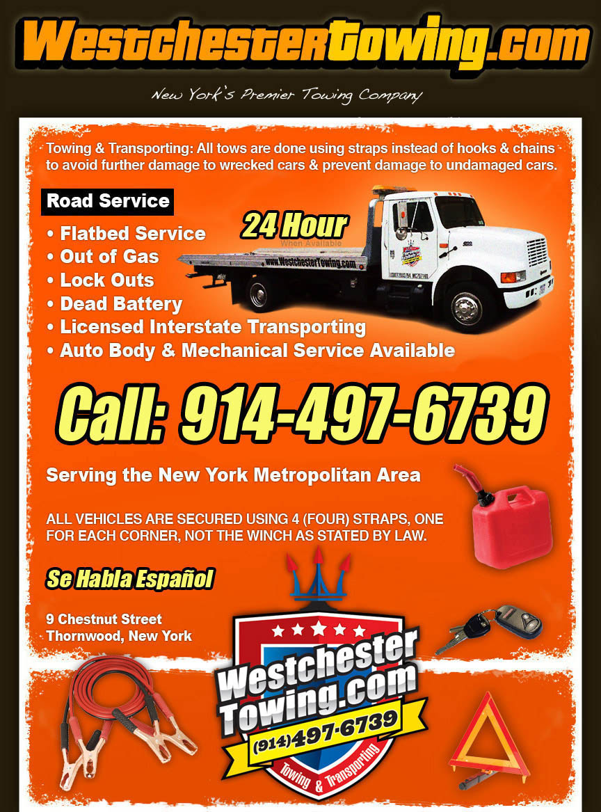 westchester towing