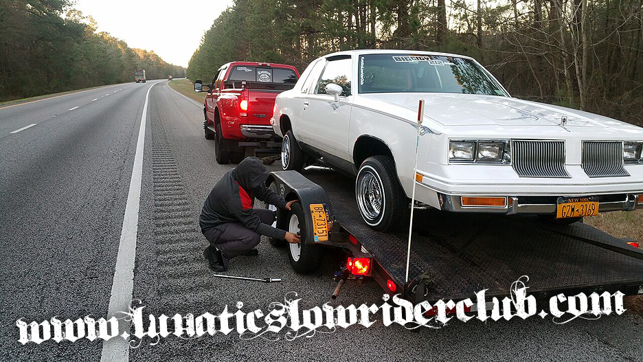 Flat Tire in South Carolina
